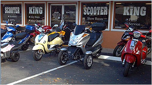 Palm Coast, FL Motor Scooters - Scooter King Motor Sports - Scooters