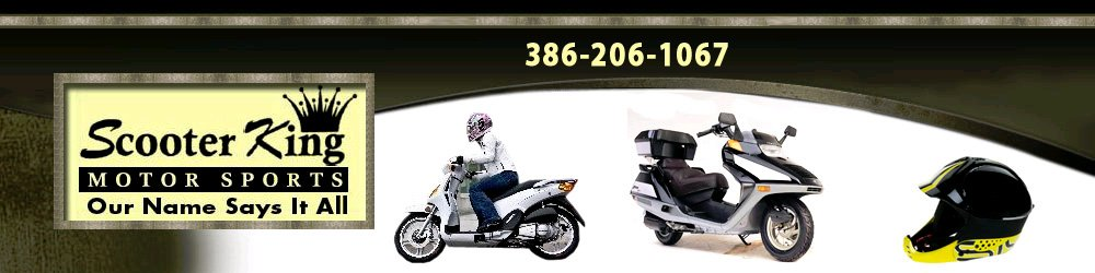 Motor Scooters Palm Coast, FL - Scooter King Motor Sports