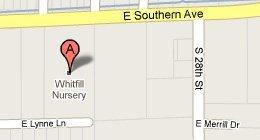 Whitfill Nursery Inc. - 2647 E Southern, Phoenix,AZ 85040
