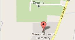Headstones - Wabash, IN - Memorial Lawns Cemetery
