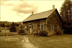 Home of abolitionist John Brown, located high in New York State's Adirondack Mountains