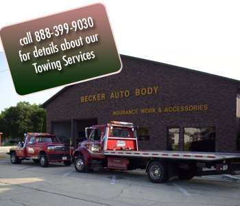 Towing - Amboy, IL  - Becker Auto Body & Towing - Call 888-399-9030 for details about our Towing Services