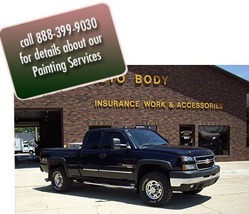 Auto Paint - Amboy, IL  - Becker Auto Body & Towing - Call 888-399-9030 for details about our Painting Services
