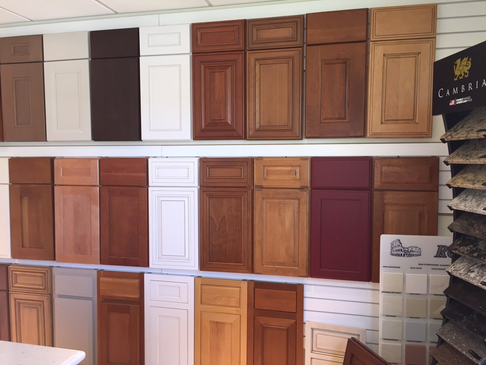 Cabinet patterns