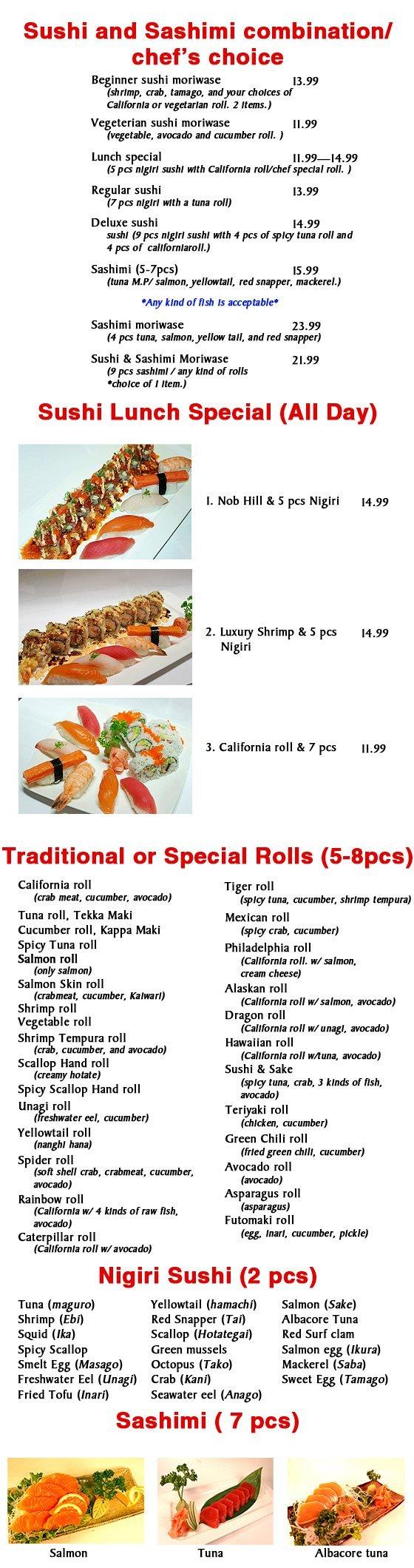 Sushi and Sake - Albuquerque, NM - Korean BBQ House and Sushi & Sake