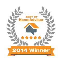 Best of Home Advisor 2014 Badge