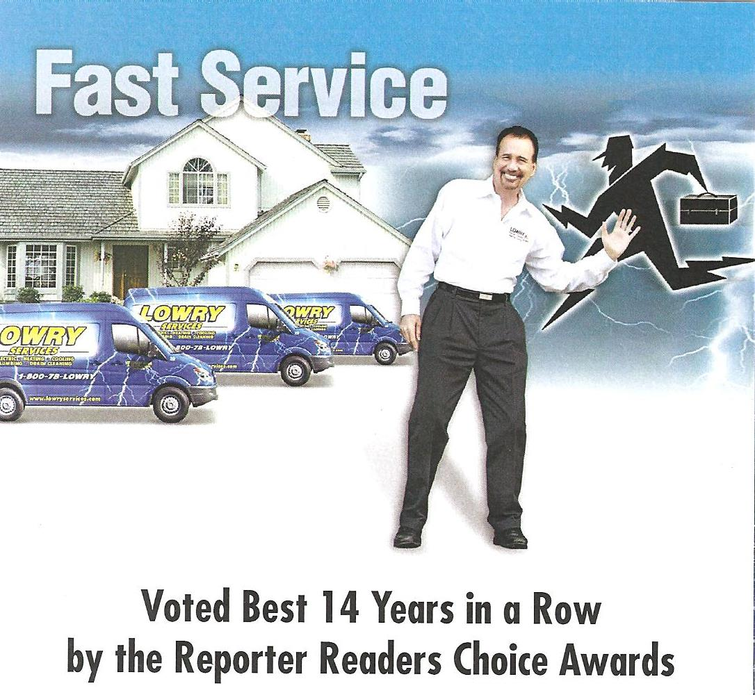 fast service voted best 14 years in a row