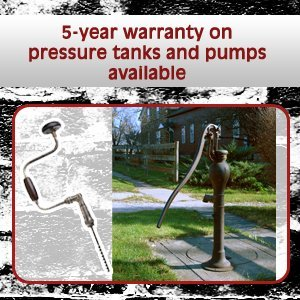 Pump Service - Pocatello, ID - Ray's Pump Service - drill and water pump - 5-year warranty on pressure tanks and pumps available