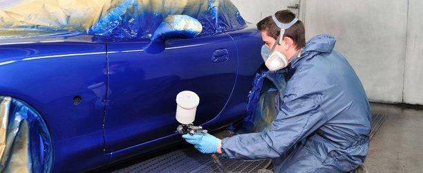Auto paint service