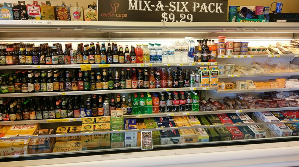 Mix-a-six pack beers