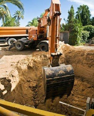 Excavation | Stanchfield, MN | Muddy Gap Hollow Inc | 763-286-2130 Caption: