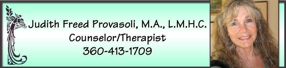 Therapists Olympia, WA - Judith Freed Provasoli, MA, LMHC