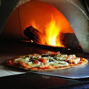 Fire wood pizza