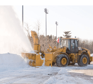 Pathway snow removal