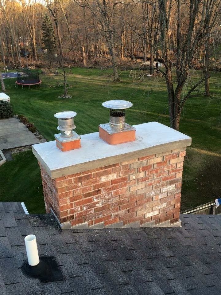 chimney repair after