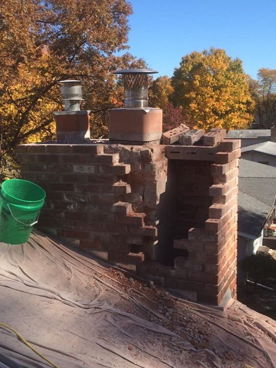 chimney repair before