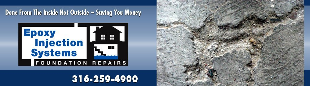 Foundation Leak Repair Wichita, KS - Epoxy Injection Systems