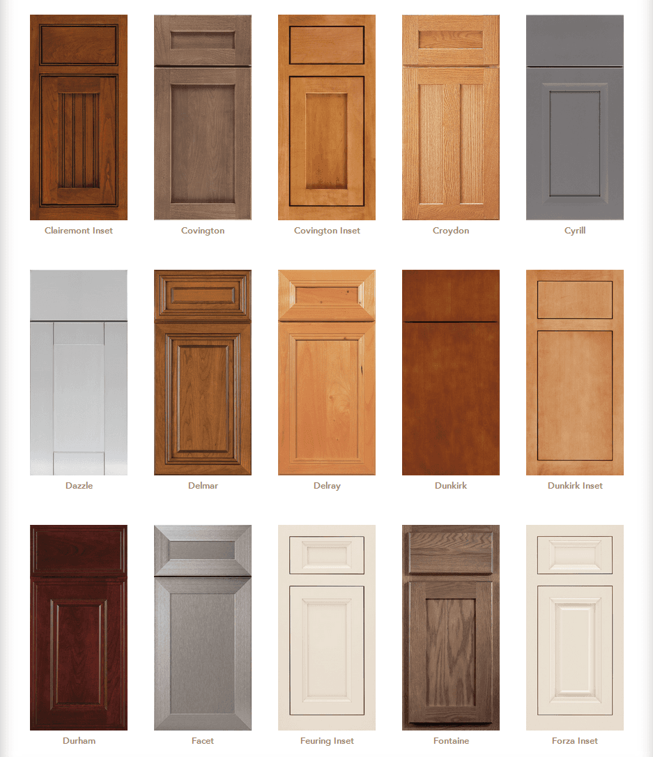 Cabinet door styles cabinet door gallery designs in cabinetry in vero beach fl - Kitchen door designs ...