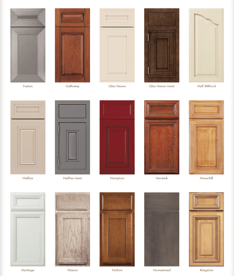 Cabinet door styles cabinet door gallery designs in for Cupboard door design ideas