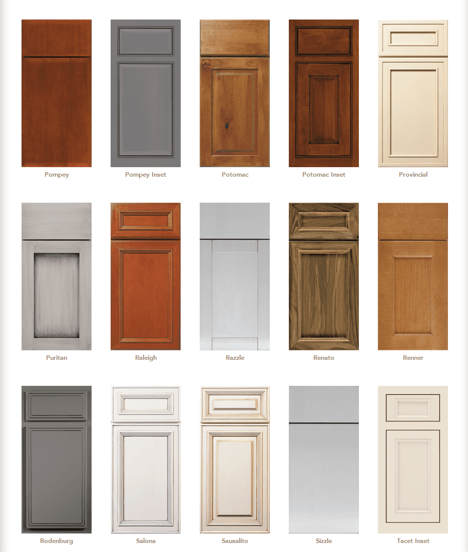 kitchen cabinet door styles options cabinet door styles cabinet door gallery designs in 7802