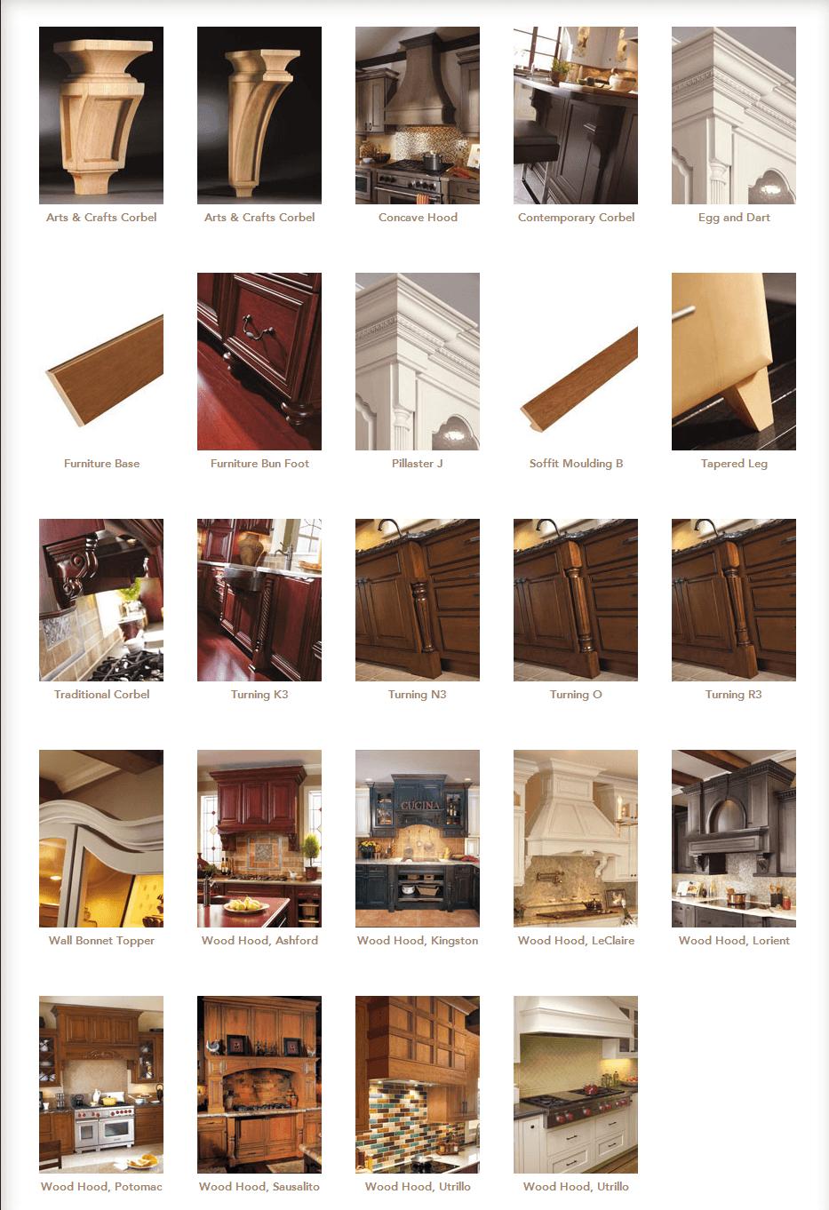 cabinet mouldings