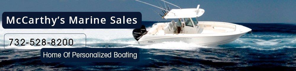 Boat Dealers - Brielle, NJ - McCarthy's Marine Sales