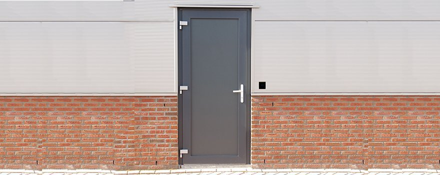 Metal Entry Door