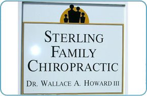 Sterling Family Chiropractic Sign