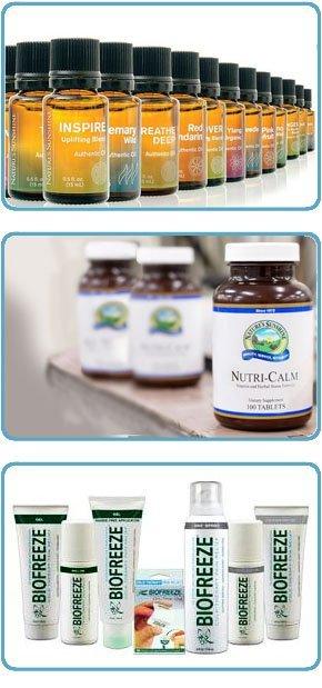 Natures sunshine & Bio-Freeze Products