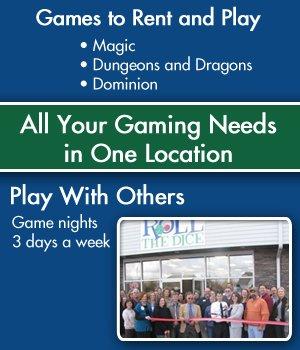 Game Events - Murfreesboro, TN - Roll the Dice