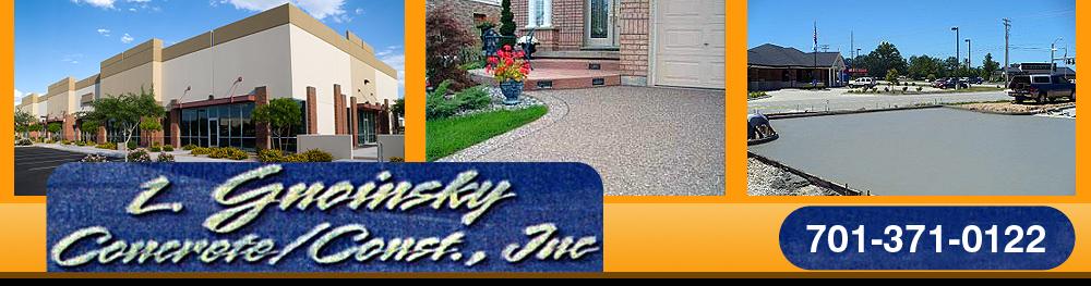 Flat Concrete Work Fargo, ND - L. Gnoinsky Concrete/Const., Inc