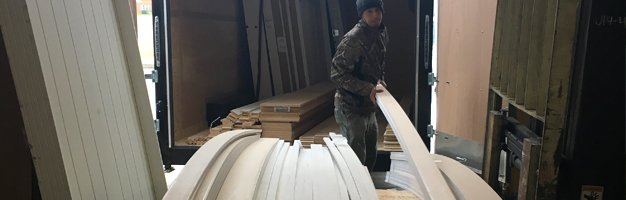 Employee loading trim