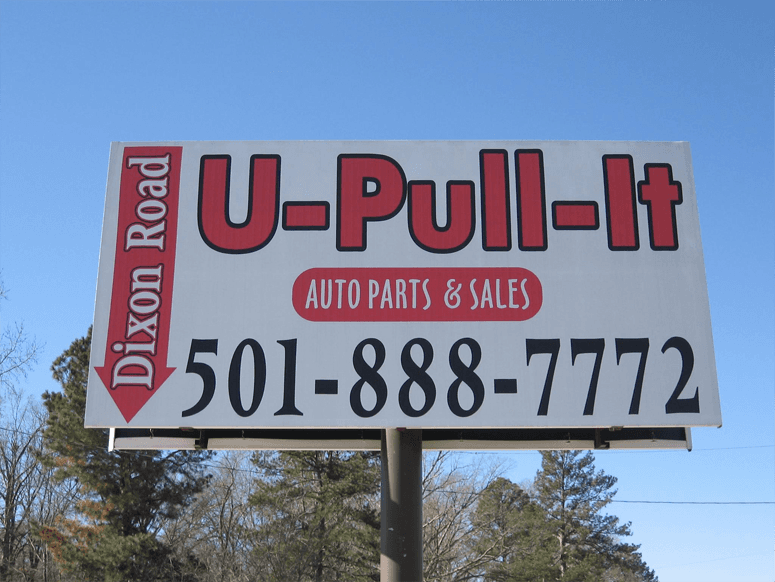 Business sign board
