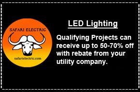 LED lighting  | Bremerton, WA | Safari Electric LLC | 360-813-3505