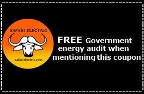 Free Government energy audit    Bremerton, WA   Safari Electric LLC   360-813-3505