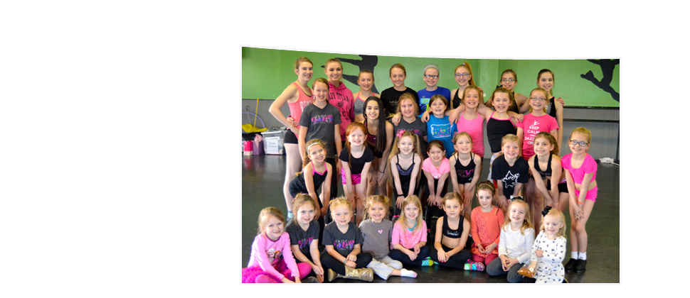 Student ballerinas at the studio during their ballet classes