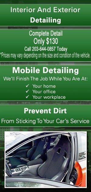 Auto Detailing Services - Norwalk, CT - Exclusive Auto Detailing