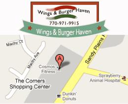 Wings & Burger Haven - 2745 Sandy Plains Rd Marietta, GA 30066