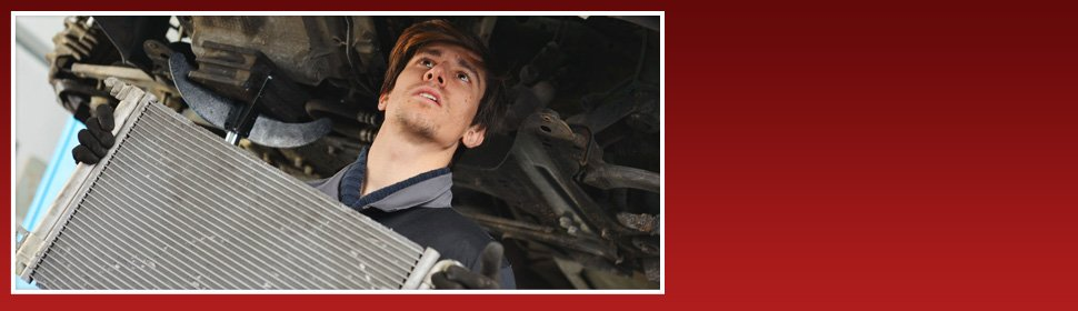 Car radiator change