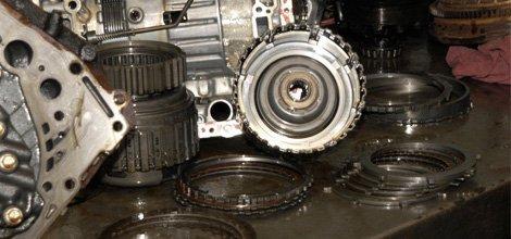 Transition parts repair