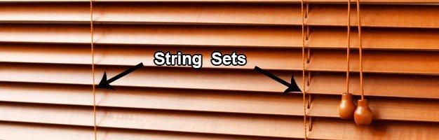 String set Horizontal Blinds