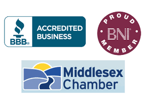 BBB Accredited Business | BNI Proud Member | Middlesex Chamber