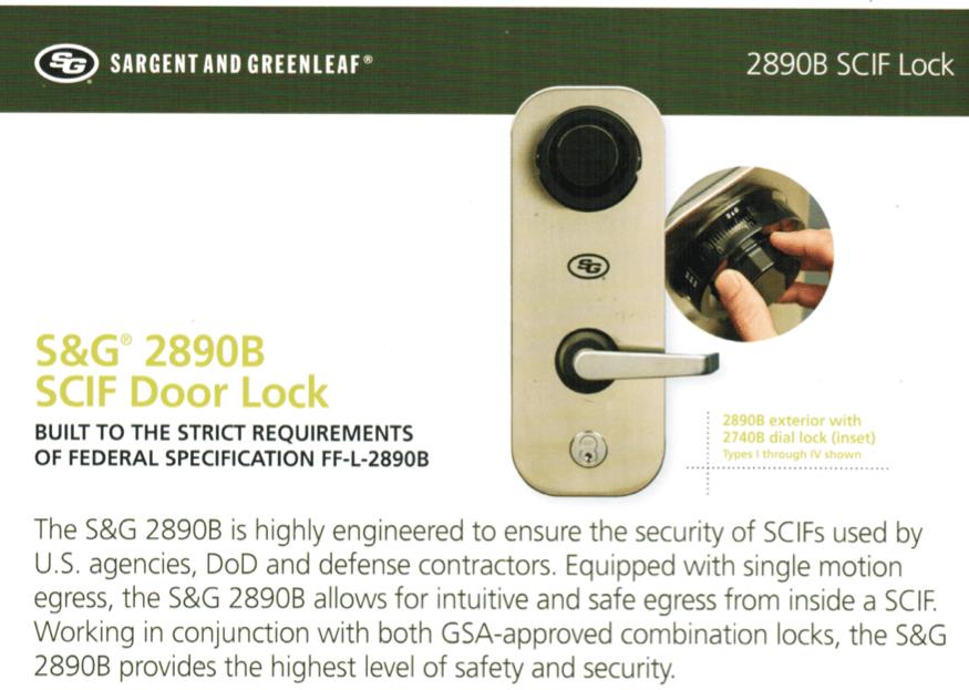 Scif Door Locks Gsa Approved Crofton Md