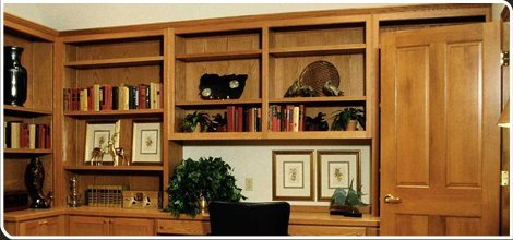 Bookcases | Washington, MO | Shaw's Custom Cabinets | 636-583-6500