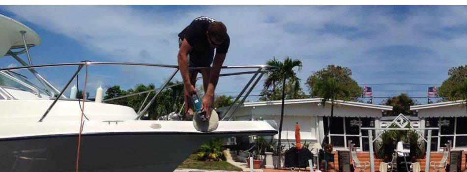 Marine detailing | Marathon, FL | A Clean Machine | 305-587-1219