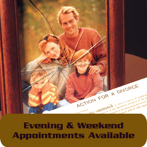 Family Law - Norwich, NY - Chamberlain Law Office LLC - broken family picture - Evening & Weekend Appointments Available