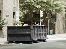 Construction Dumpsters - Kansas City Metro, KS - M H Services LLC