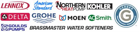 Lennox | American Standard | Northern HeatPump | Kohler | Delta | Grohe | Moen | AO Smith | Goulds Pumps | Brassmaster | Gerber