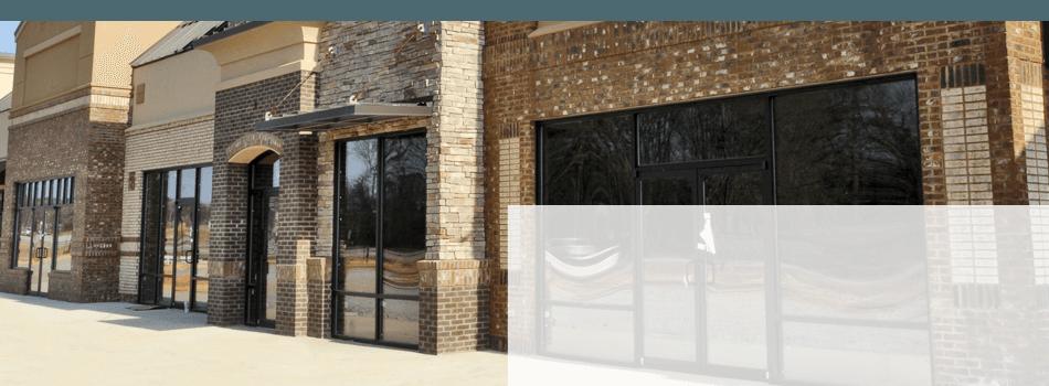 Store window installation