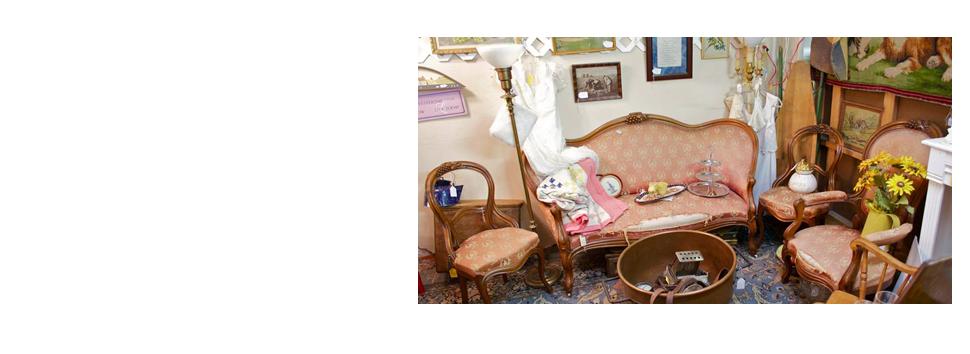 Vintage living room equipment